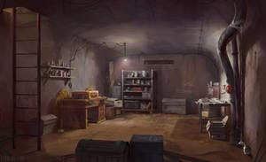 Martin Luther - Hidden Bunker by Lyraina