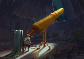 Astronomouse by Lyraina