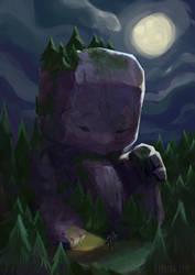 Little big giant by Lyraina