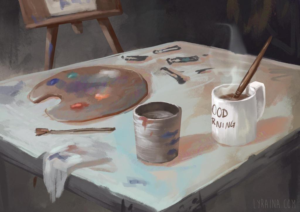 Monday Morning by Lyraina