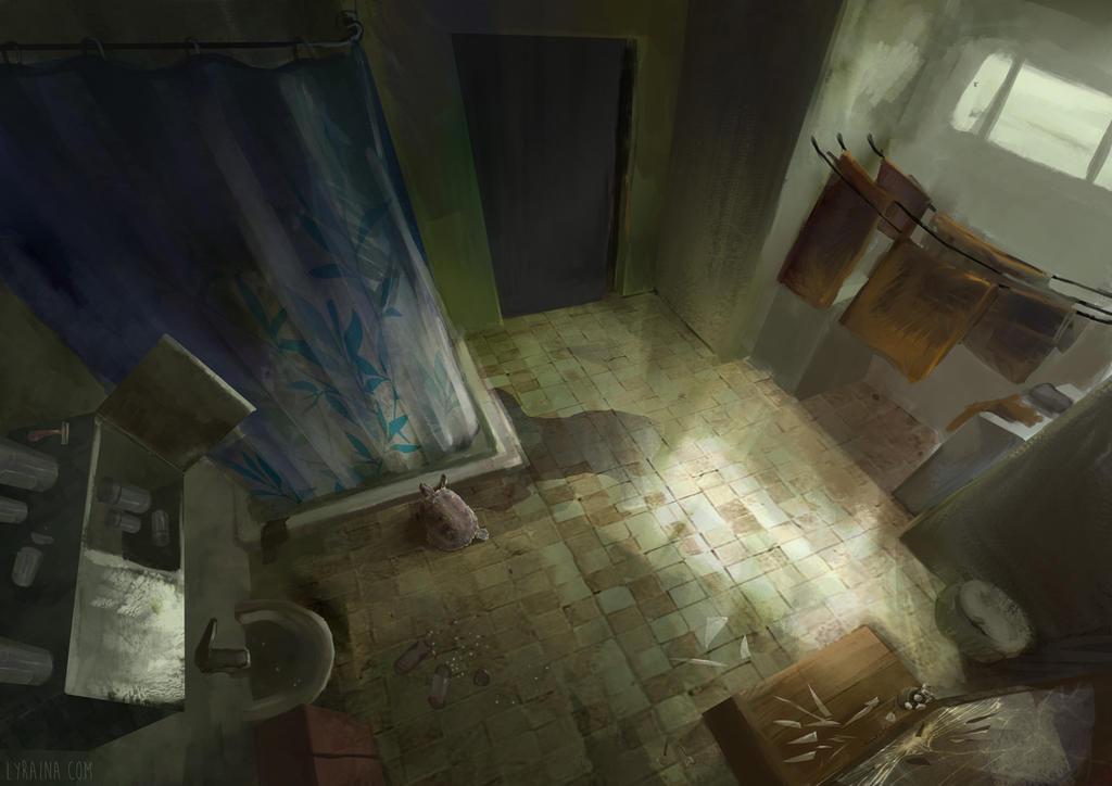 Bathroom by Lyraina