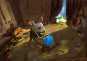 Blue Egg 2! by Lyraina