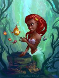 Ariel by Lyraina