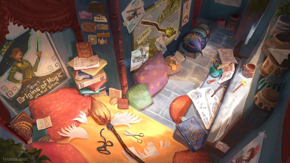 Thea's Bedroom
