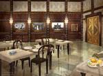 Grand Hotel Abaddon - Restaurant