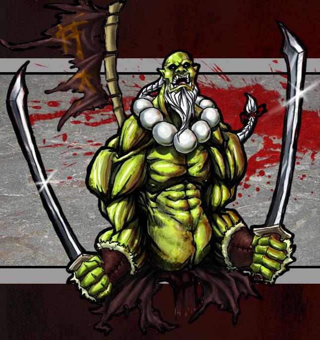 Имя орка мастера меча из варкрафта 3