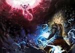 Goku vs Frieza by mobius-9
