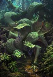 Green-dragon