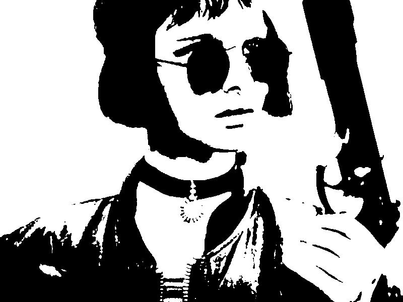 Mathilda with silenced pistol by Albanez1992 on deviantART