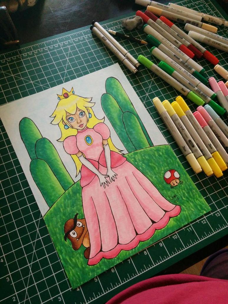 Princess Peach by KittyCatChey
