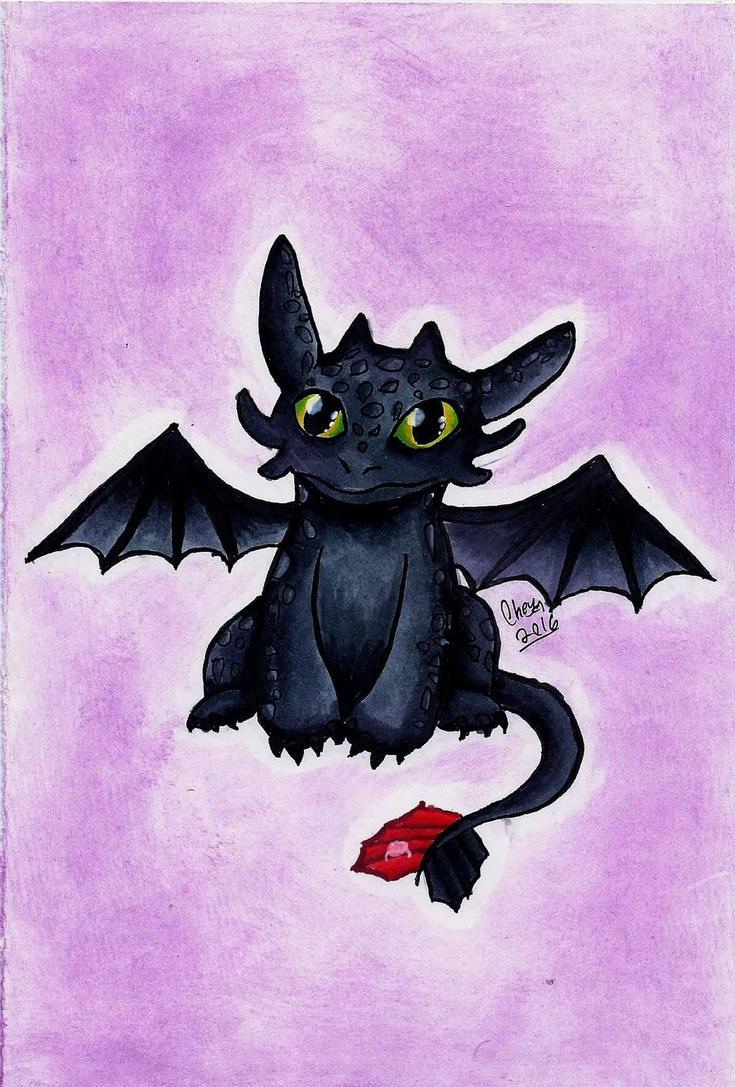 Toothless by KittyCatChey