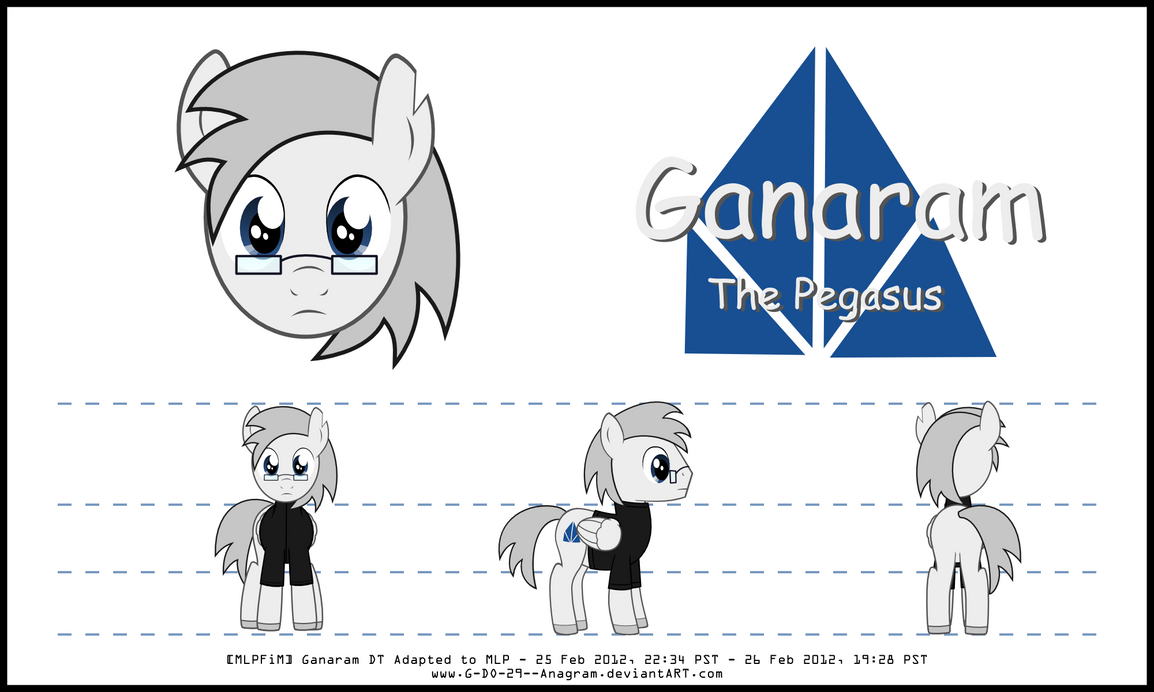 My Little Pony DT (Ganaram) by G-DO-29--Anagram