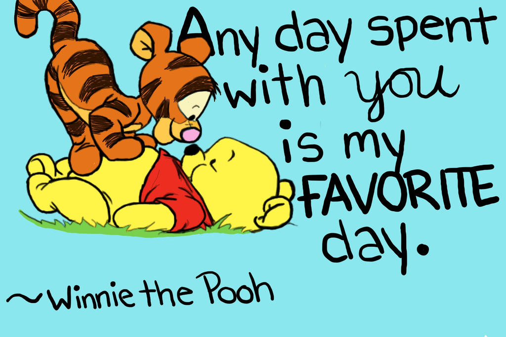 Winnie the pooh birthday quotes quotesgram - Pooh And Tigger Quotes Quotesgram