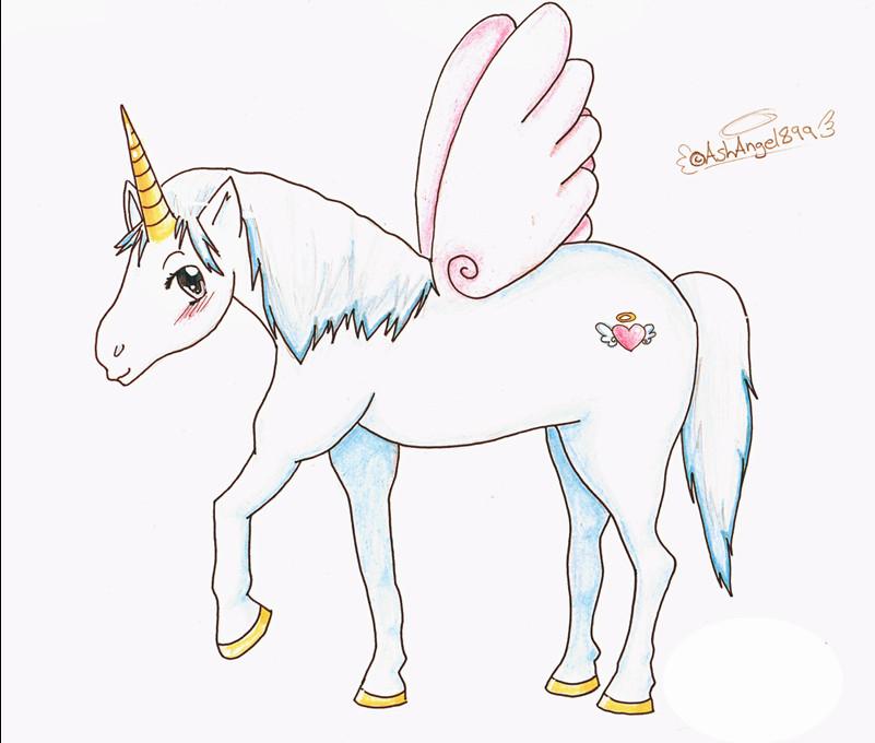 How To Draw Anime Unicorn