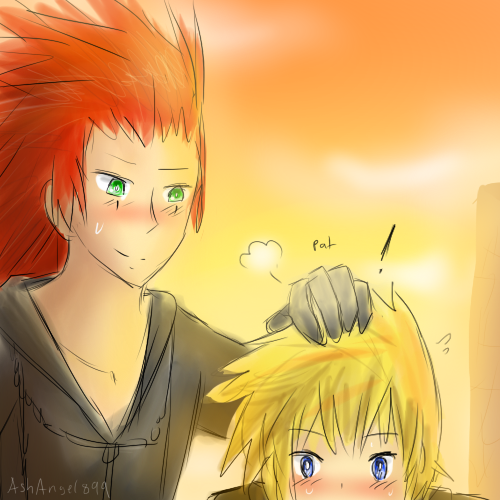 Happy AkuRoku day 2012 by AshAngel899