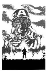 Captain America by anthonymarques