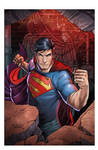 Action Superman Colored