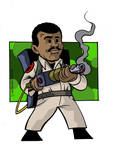 Winston Zeddemore of Ghostbusters fame