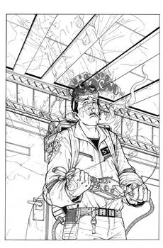 Ghostbusters Spec Cover Inked