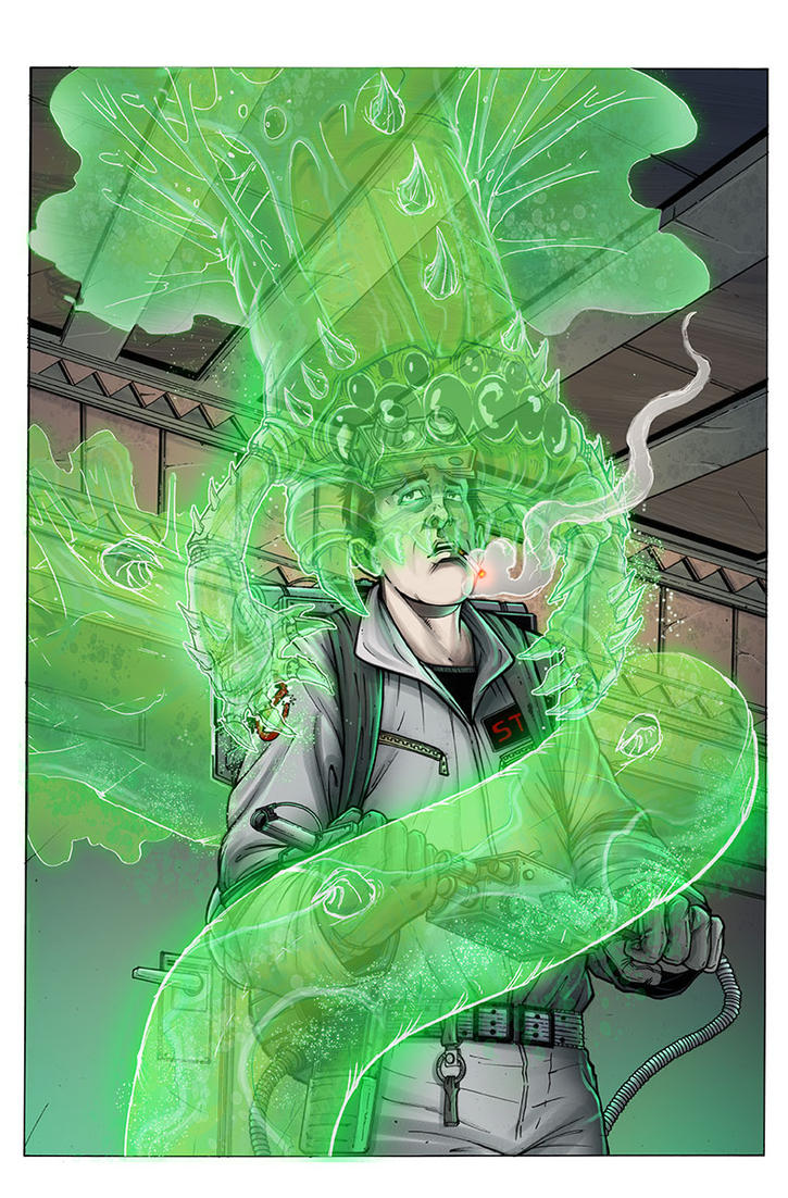 Ghostbusters Spec Cover Colored by anthonymarques