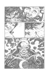 Solar Man of The Atom #11 page 14 Pencils