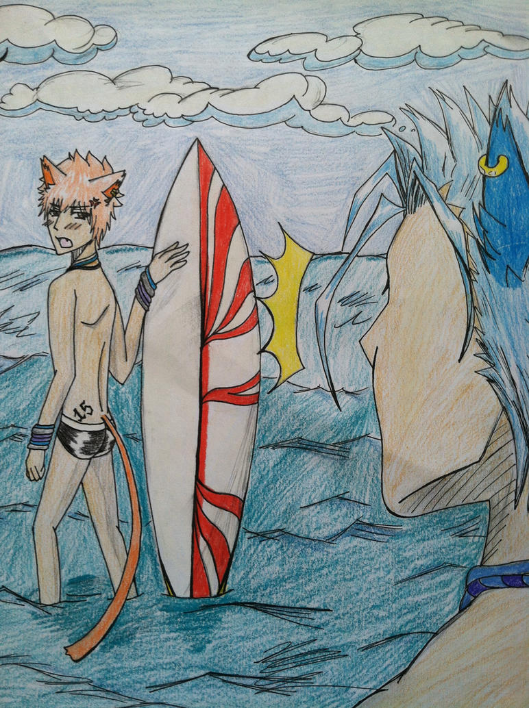 Summer Sports Contest: GrimmIchi Entry by Nekoichi379