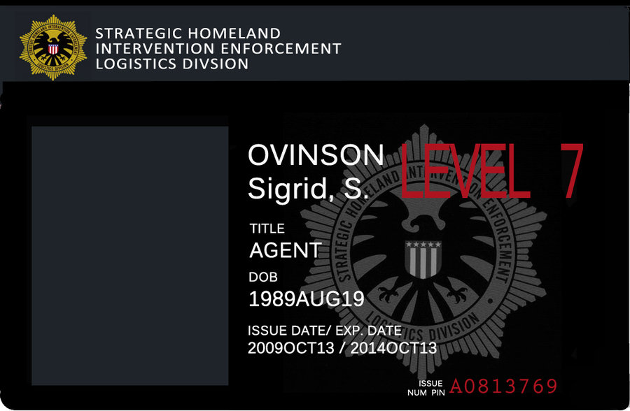 SHIELD agent badge by Alebireo