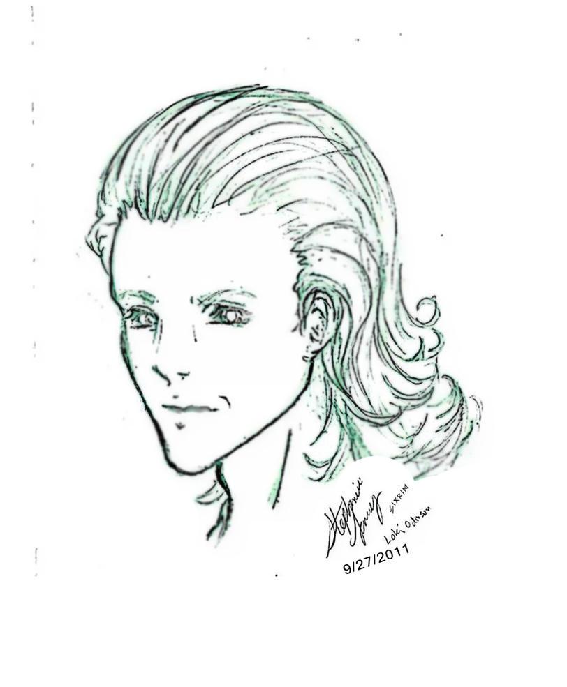 Loki Odinson by Alebireo