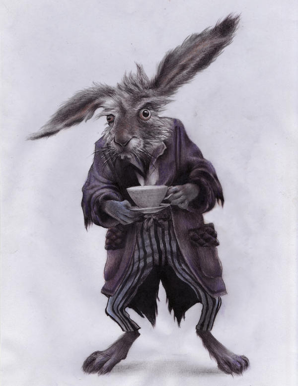 March hare by rininci on deviantart for March hare wallpaper