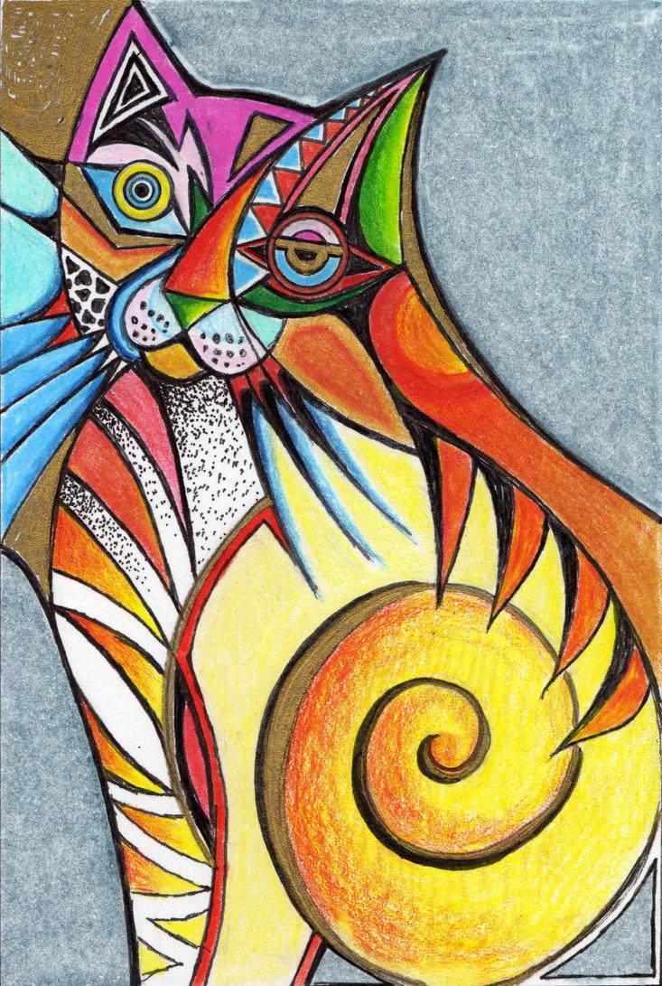 Рисунки в абстрактном стиле