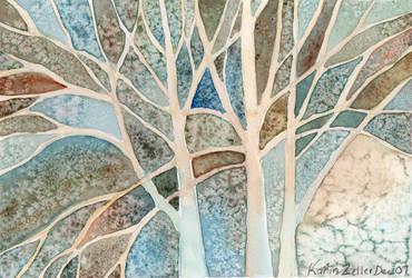 trees by karincharlotte