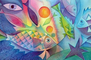 Fish farts by karincharlotte