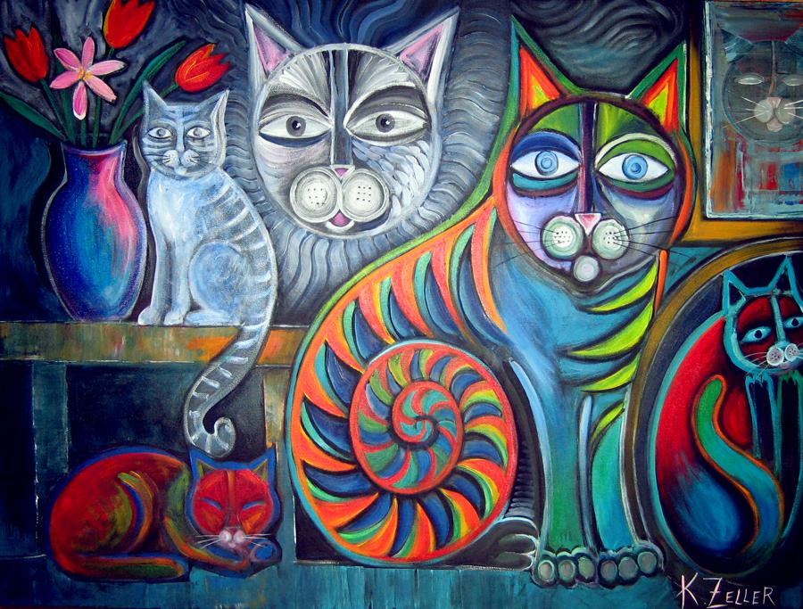 Cats meow by karincharlotte