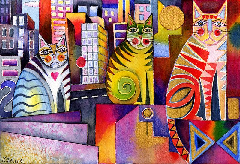 City Cats II by karincharlotte