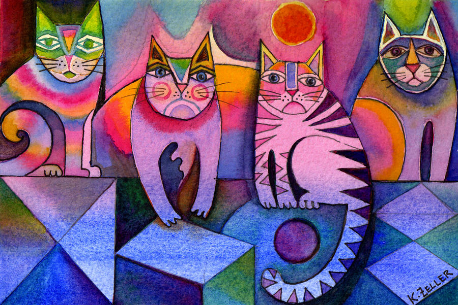 Rainbow cats larger file by karincharlotte