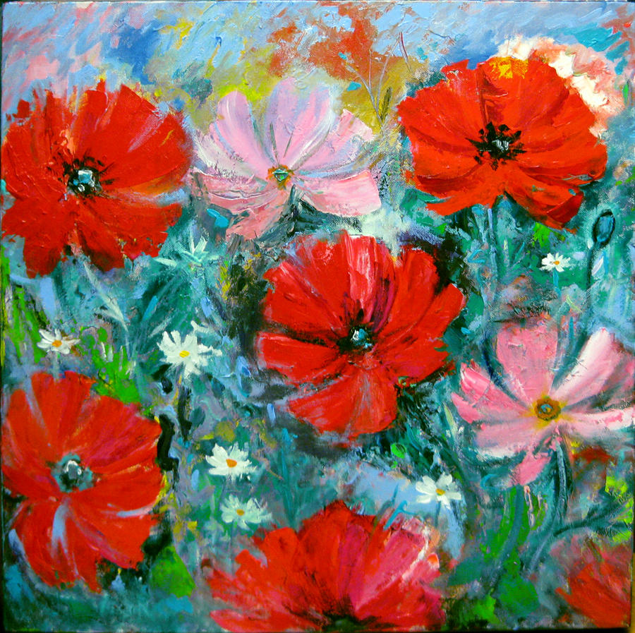 Poppies 2 by karincharlotte
