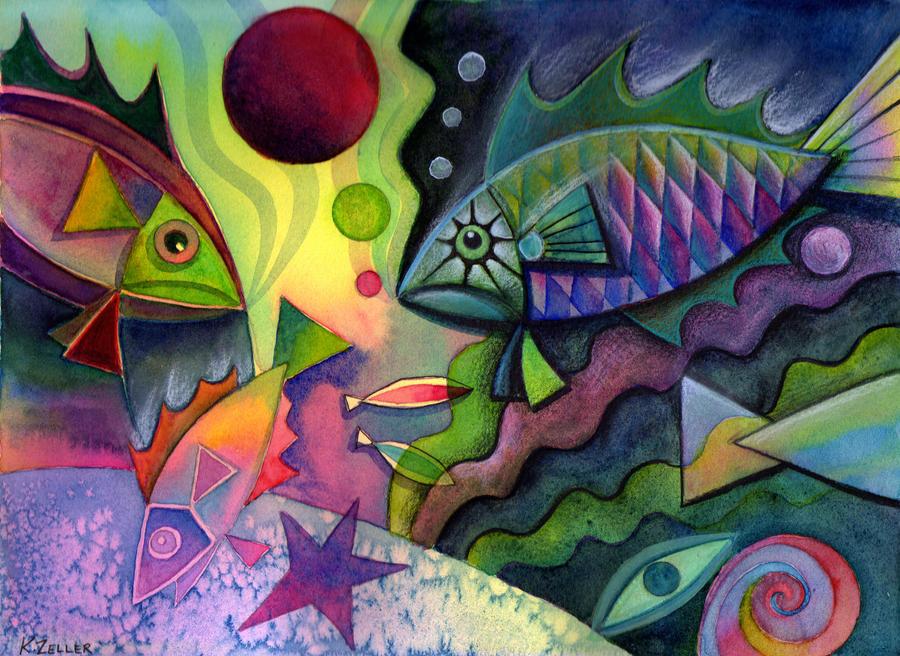 Unda the sea by karincharlotte