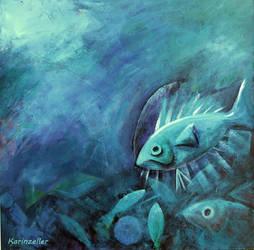 Deep blue by karincharlotte