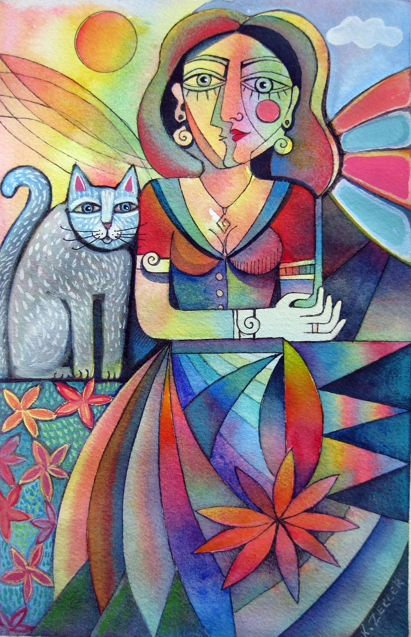 Picasso's Girlfriend by karincharlotte