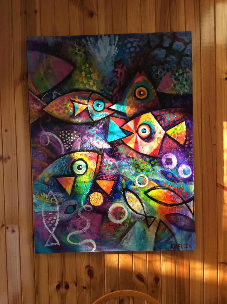 Clown Fish by karincharlotte