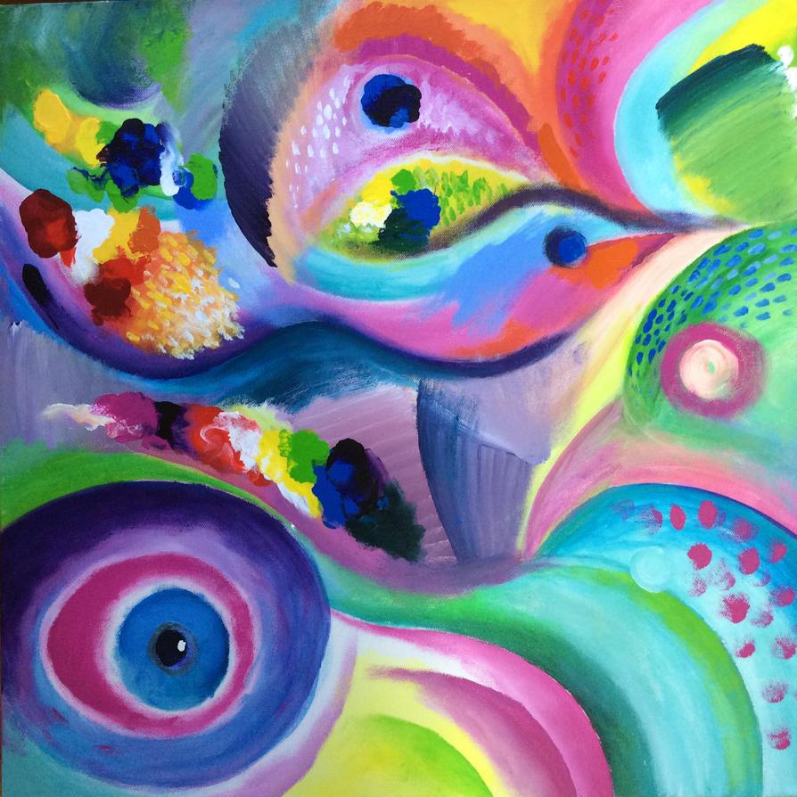 Bird Abstract by karincharlotte