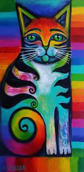 Rainbow kitty 2