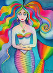 Mermaid watercolour