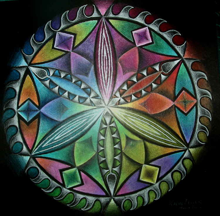 colour wheel by karincharlotte