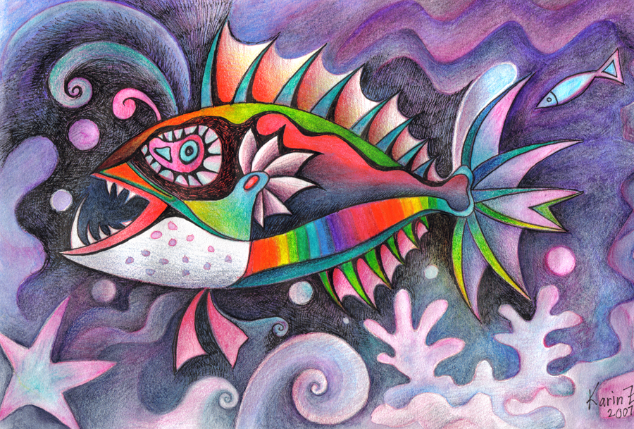 invent a fish 5 by karincharlotte
