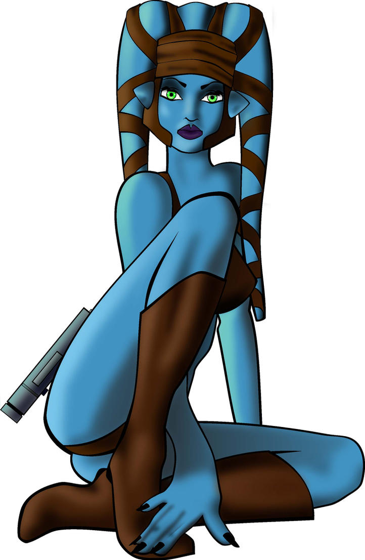 3d blue alien girl with small tits blows and fucks 3