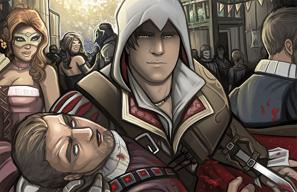 Ezio Auditore By Holly The Laing On Deviantart