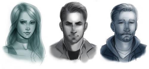 Character Portraits 2020