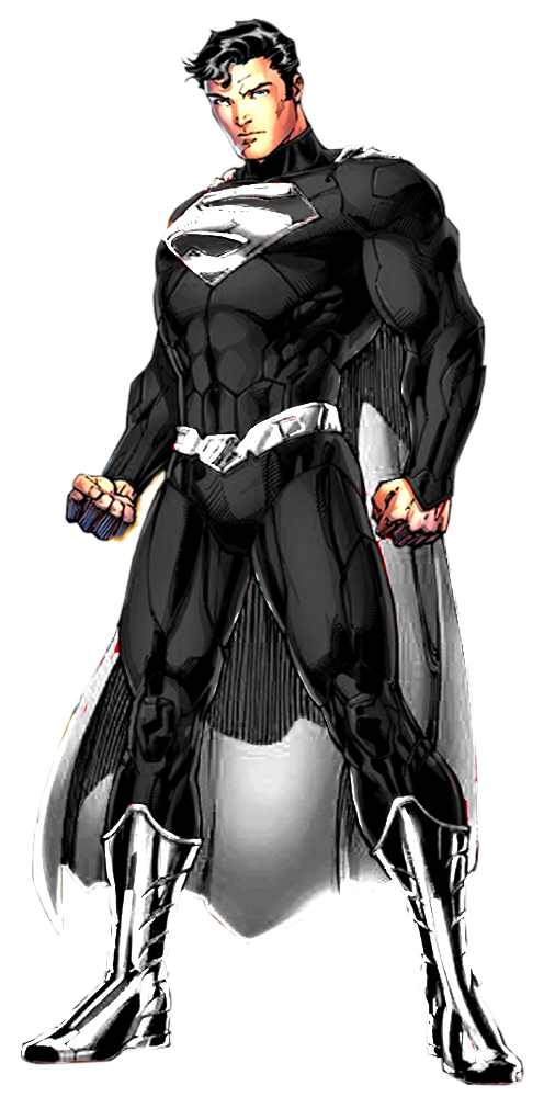 Download The Image Of The Evil Superman With Black Suit: Platinum Superman By Oscar-aburto On DeviantArt