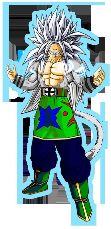 Ascended super saiyan 5 goku by oscar aburto on deviantart - Goku super sayan 5 ...